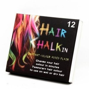 OHICO Accessories - 12 Colors Hair Dye Chalk Temporary Instant Color